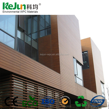 KEJUN Easy installation outdoor wpc exterior wall cladding