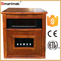 1500w Portable Electric Quartz Infrared Heater With CE ETL