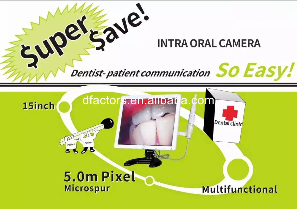 Led Monitor Intraoral Camera