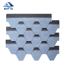 Humidity resistence Building Materials decoration asphalt fiberglass roof tile for Project