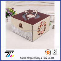 New design cake box with CE certificate
