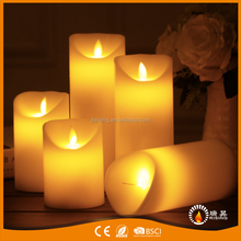 Remote Control LED Flickering Flame Candles Artificial Flames Candles Paraffin Wax LED Decorative Candles