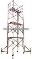 q235steel ladder scaffolding framework made in china