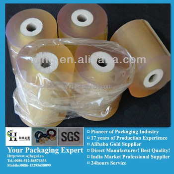 Protective wrapping wire pvc film