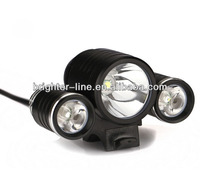 Cree XML T6 and XPE R2 LED headlamp front light for bike