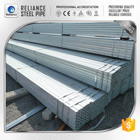 ERW SQUARE PREPAINTED GALVANIZED STEEL PIPES FURNITURE