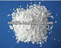 The winter snow melt products Calcium Chloride