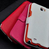 Hot selling mobile phone case with best price folio leather covers for samsung galaxy note 3