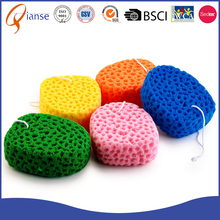 Promotional back washing usage Removal Compressed mesh bath sponge