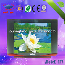 hot sale small color tv low price crt tv