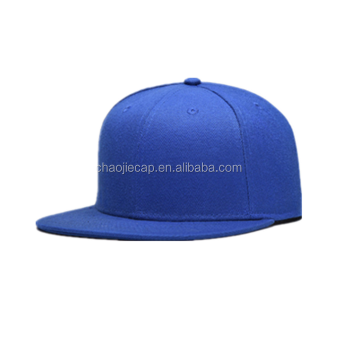 High Quality 6 panel Polyester flexfit snapback cap