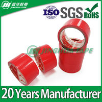 Red good adhesive butyl rubber tape