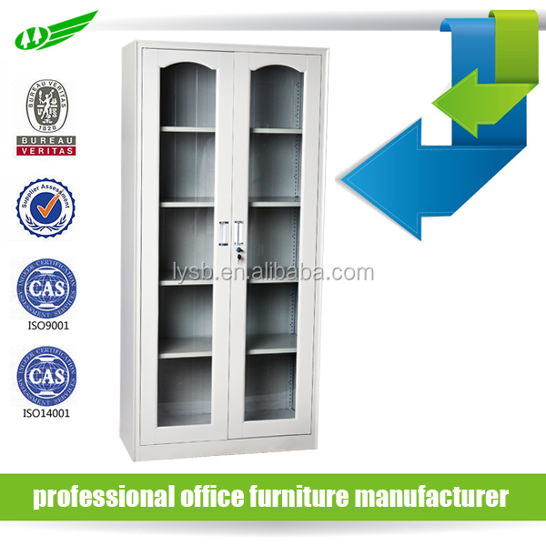 Glass door steel chemical safety cabinet hot sale