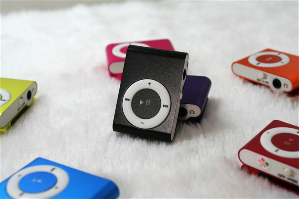 NOUVELLE Grande Promotion Miroir Portable lecteur MP3 Mini Clip Lecteur MP3 Sport Mp3 Lecteur de Musique Walkman Lettore Mp3