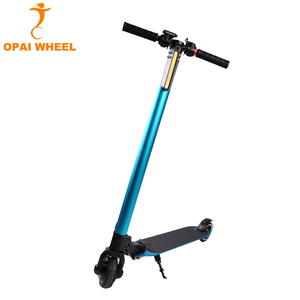 Shenzhen Factory Wholesale Light Weight Folding Electric Scooter 2017 With Lithium Battery