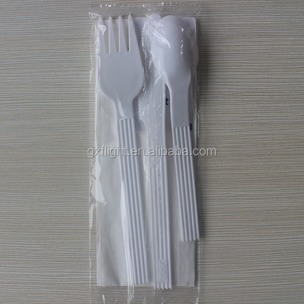 FS Airline white 72pcs set of cutlery
