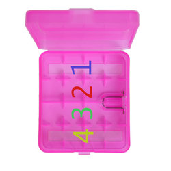 New product 18650 14500 storage battery Box , colorful plastic battery case , battery plastic case