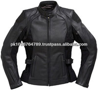 Ladies Leather Motorcycle Jackets, Genuine Leather, Custom Fitting