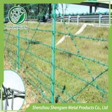 hot sale 4 strand barb wire fence cost manufacturer