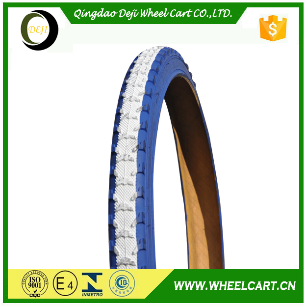 China Manufacturer Solid Rubber Bicycle Tire 12x2.125