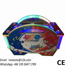 Indoor Amusement Coin Operated Arcade Game Machine UFO Ice Air Hockey Table