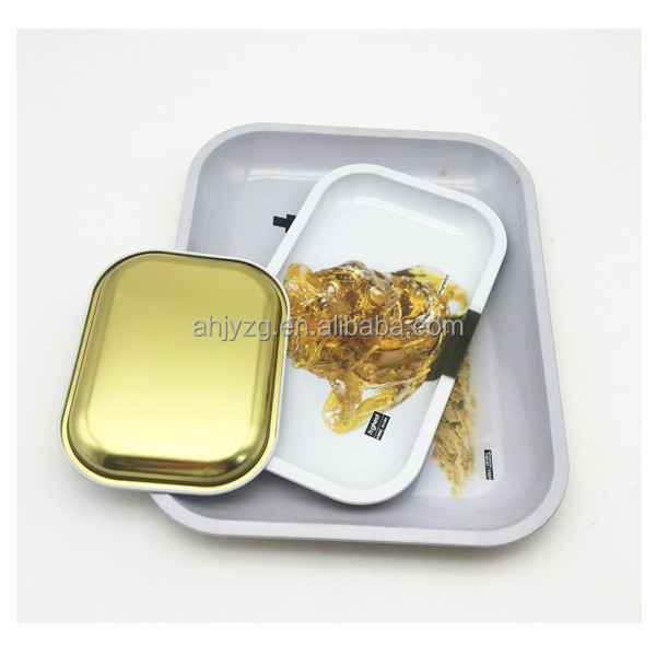 tin tray rolling tabacco tray wholesale