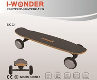 I-WONDER 36V/8.8AH 18650 Lithium Battery RC All-Terrain SK-C1 Off-Road Electric Skateboard Dual Drive 350W*2 DC Brushless Motor