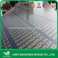 21mm Construction wood,concrete formwork Plywood