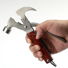 Factory Wholesale Stainless Steel Multi-use Tools Outdoor Hammer Mini Claw Hammer
