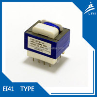 EI41epoxy potting small electrical transformers from Chinese Factory