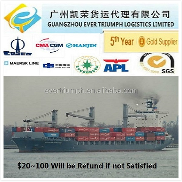 Intermodal Container Shipping From China to Chile