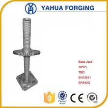 Manual Screw Base Jack Stands for Scaffolding