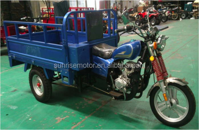 CKD Gasoline tricycle, 3 three wheel motorcycle, CLASSIC 150cc, 200cc, 250cc