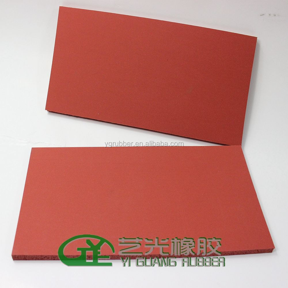 silicone foam rubber for ironing table