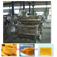 Factory supply 1500-2000 kg/h automatic fruit mango pulping machine prices