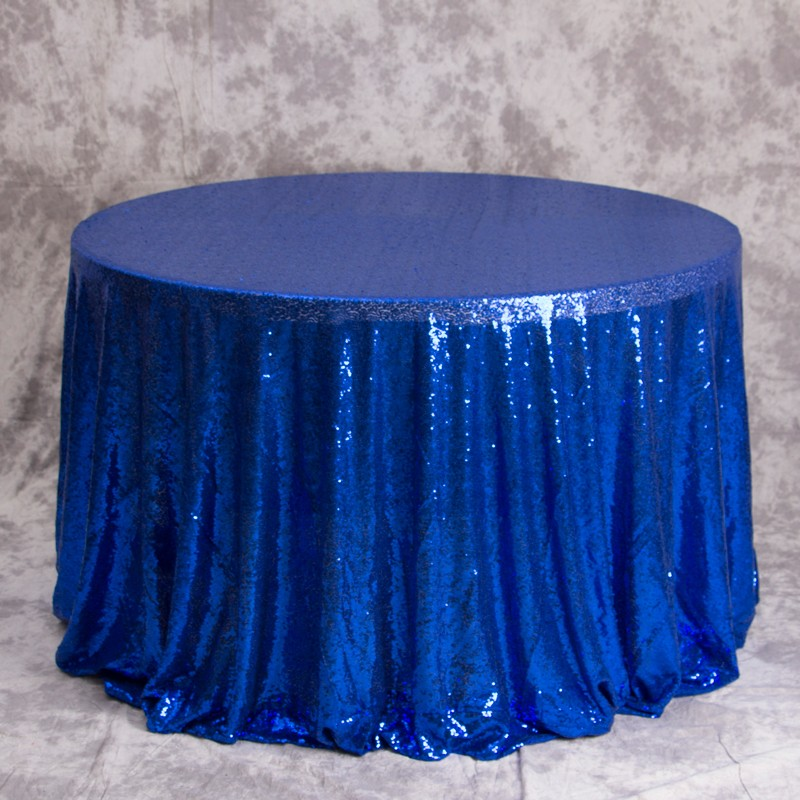 new event design shiny sequin party tablecloth for hotel