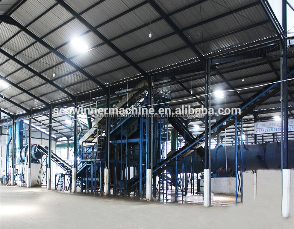 npk granule compound fertilizer production line