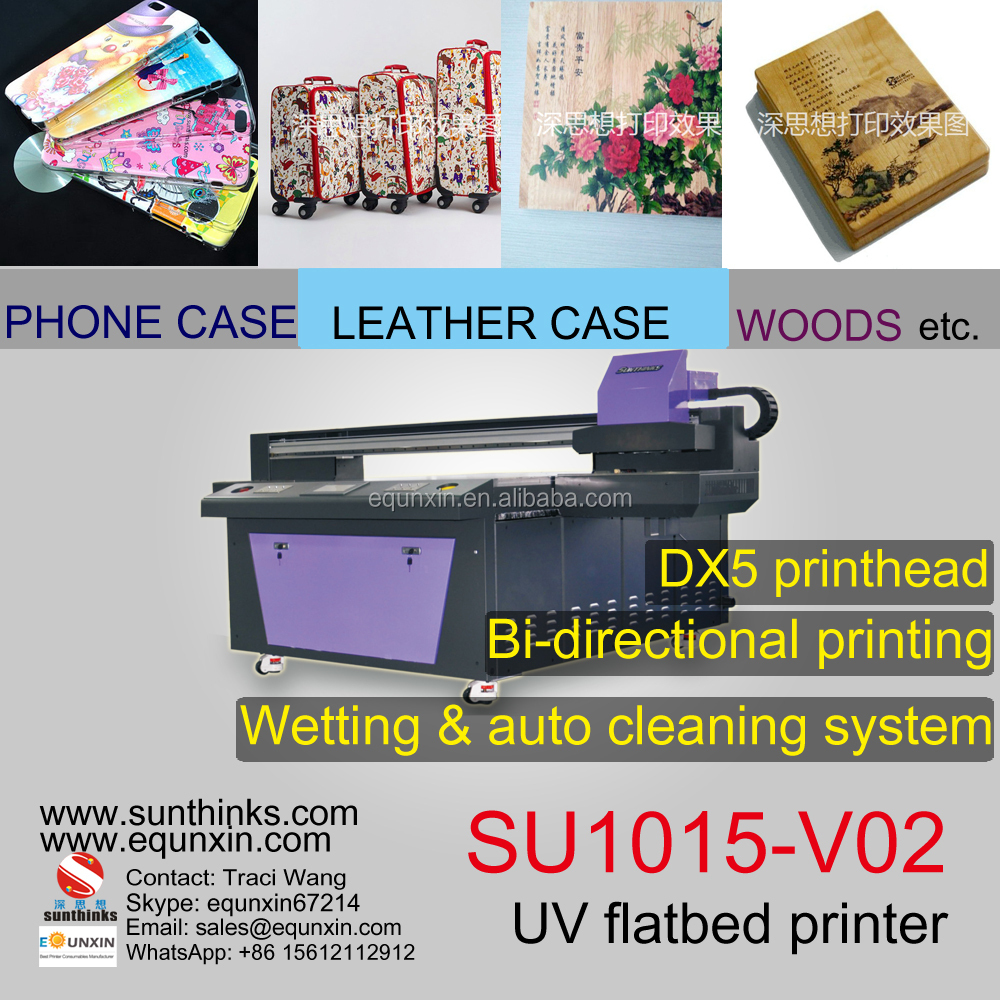 SU1015-V02 printer with DX5 printhead 4 color, 8 color, white ink available 1M*1.5M