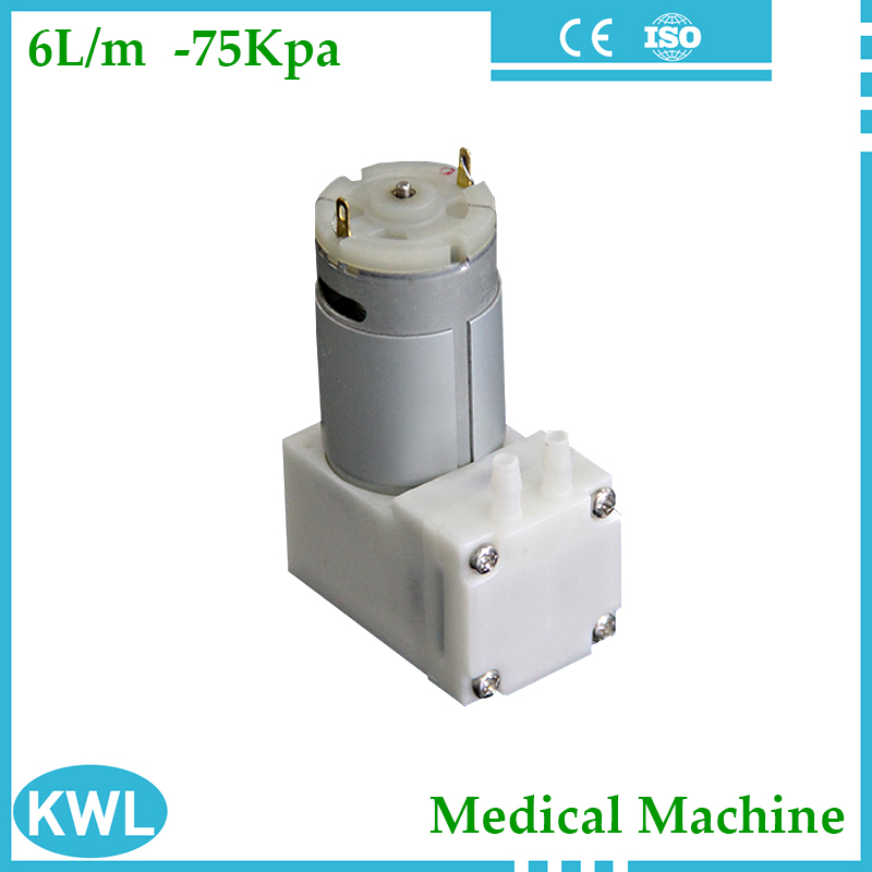 Low noise DC electric suction presure pump -70Kpa,small vacuum pump for Medical&Lab machine