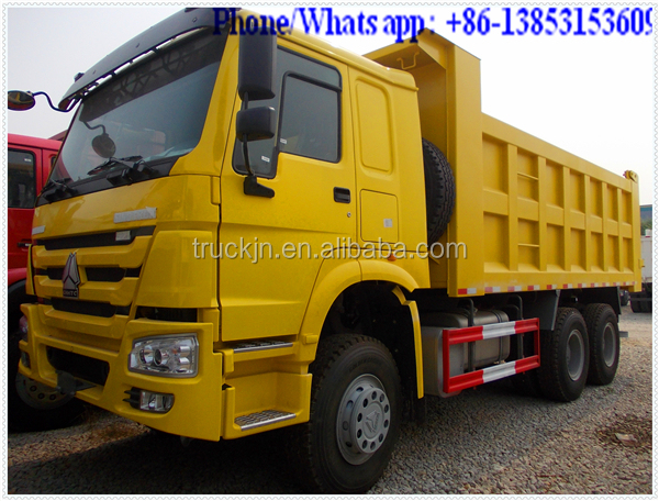 Sinotruk 2015 model howo 30 ton 10 wheeler dump truck for earth transportation