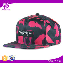 Shandao China manufacturer competitive price printing snapback hats bulk