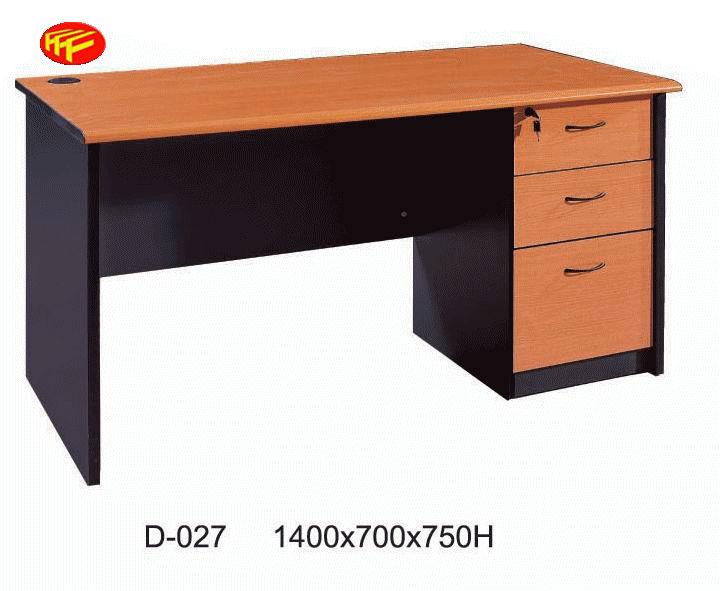 moderno escritorio de oficina de melamina han caj n con