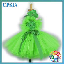 Fashion New 2014 Girl Party Wedding Dress Kid wear 4 years old Girl Dresses