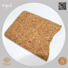 2013 Top rated natural colour cork tablet case for ipad mini cork for kids
