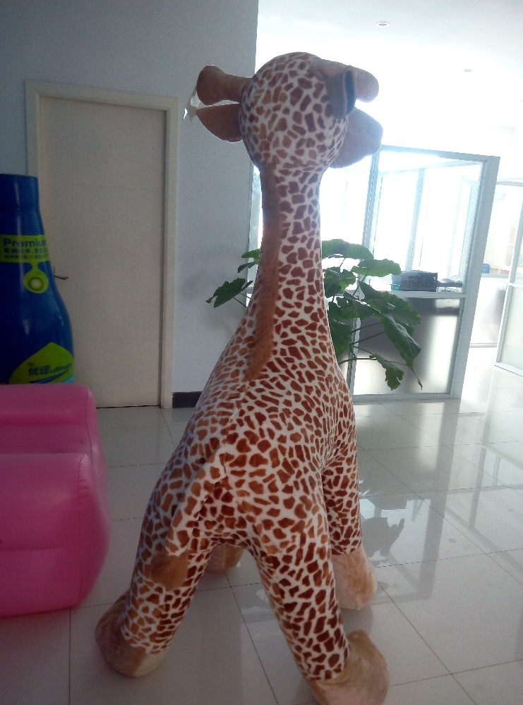 Hot Sale Customizable Inflatable PVC Giant Giraffe Animal Toy Inflatablec Cute Deer