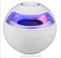 Factory Wholesale Bluetooth Speaker Colorful Light Bluetooth Speaker Ball Mini Bluetooth Speaker