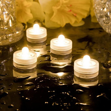 12pcs Waterproof Submersible LED Mix Color Tea Light Electronic Candle Light for Wedding Party Christmas Valentine Decoration