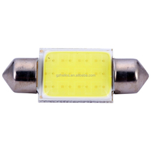 36mm 12V COB Festoon LED Car Bulb Auto Led Interior Light Lamps 6000K Parking Dome Map Trunk RV SUV Light 1.1$/LOT