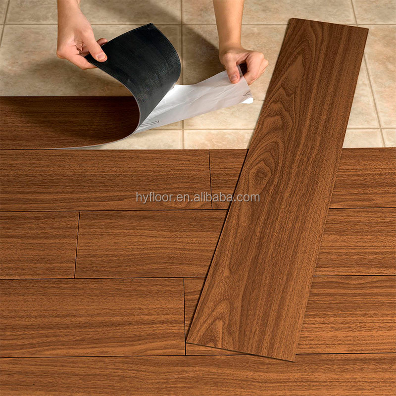 Walmart Price Discontinued Peel and Stick Vinyl PVC Wooden Floor Tile