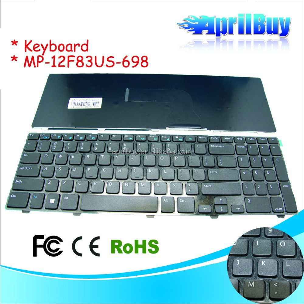 laptop keyboard for dell MP-12F83US-698 PK130SZ3A00